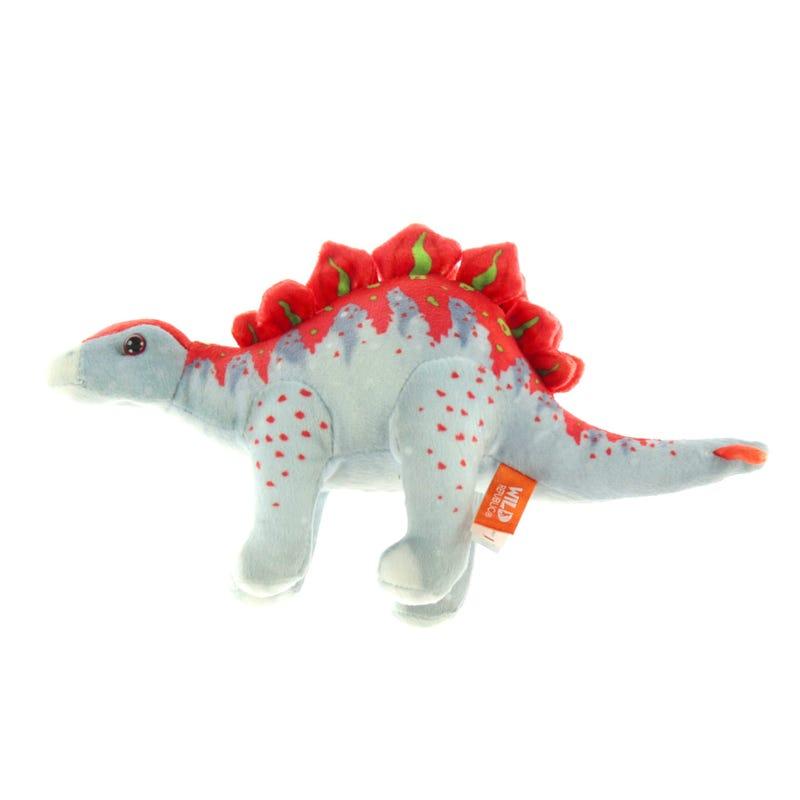 Plush Dinosaur  Stegosaur - Gray
