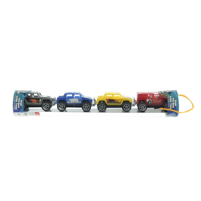 Tube Vehicules set of 4
