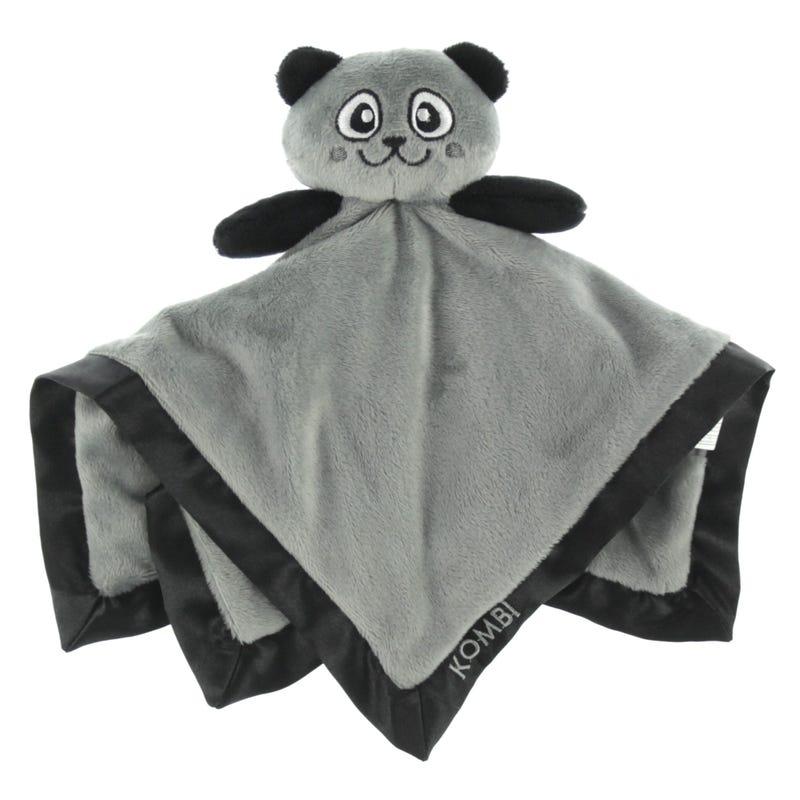 Doudou Panda Gris
