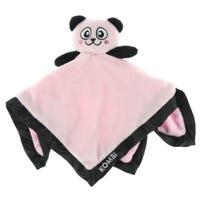 Doudou Panda Rose