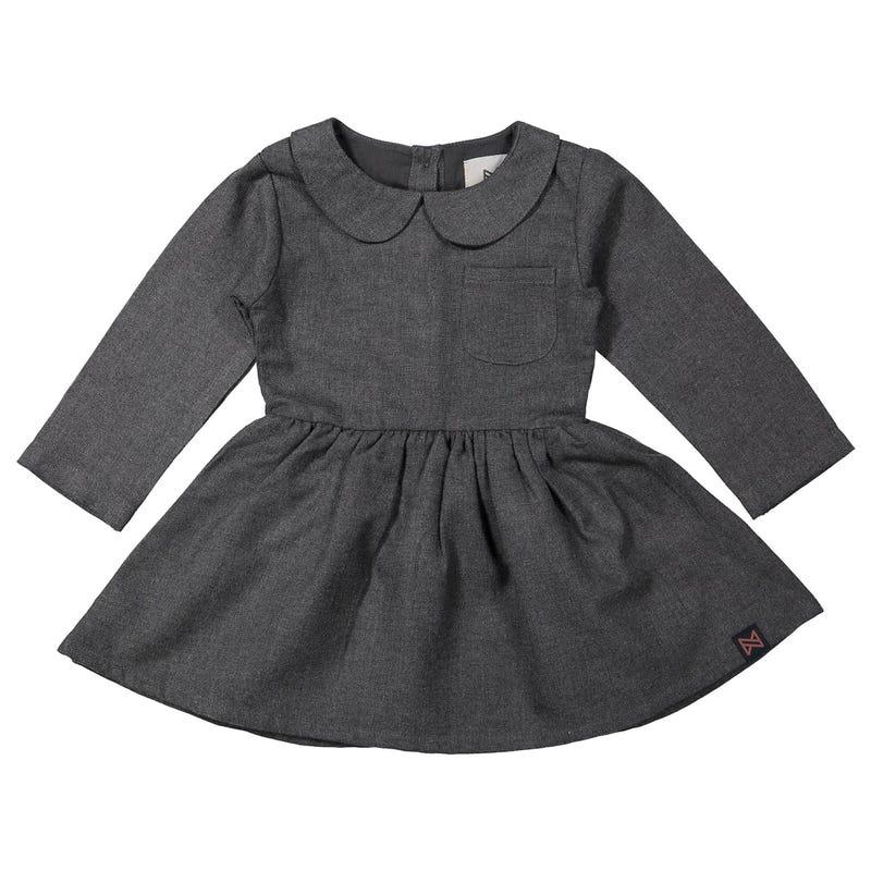 Collar Dress 2-8y