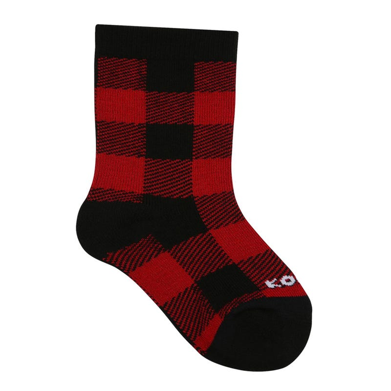 Lodge Plaid Sock 6m-12y