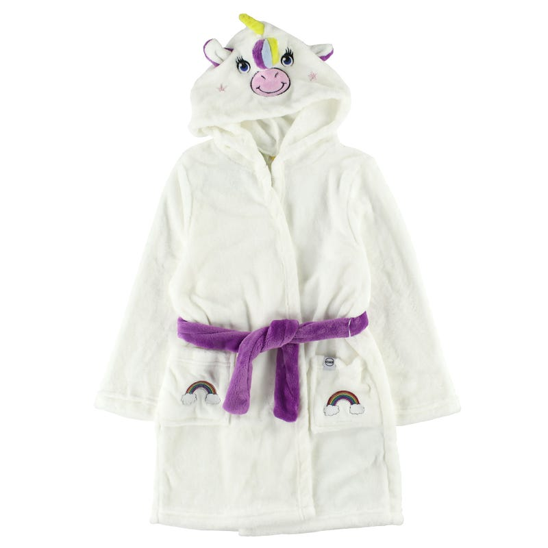 Cozy Animal Robe 2-6y - Grace The Unicorn