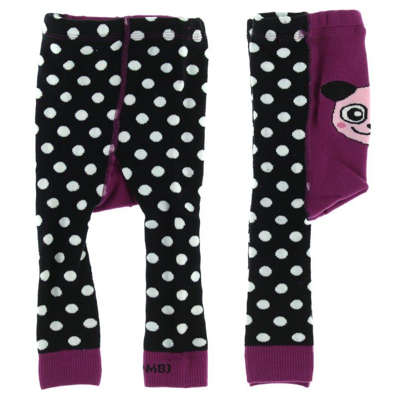 Thermal Animal Leggings 3-24m - Sasha The Panda