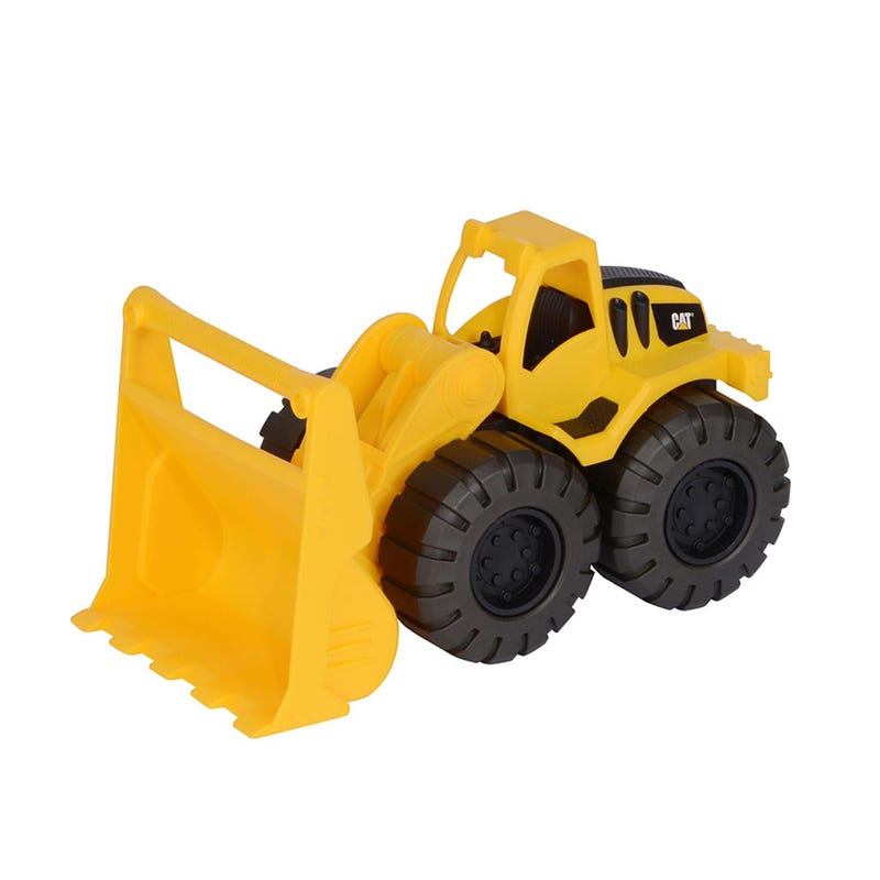 Loader Truck On Wheels - Yellow