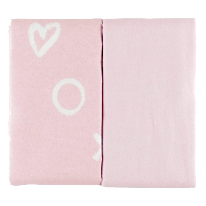 Couverture Paquet de 2 - Rose XO