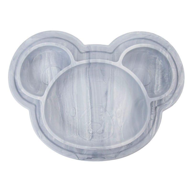 Siliplate Silicone Bear Marbre