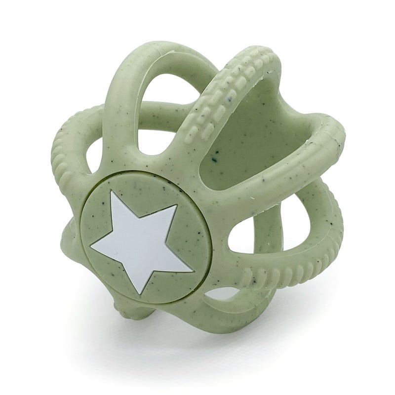 Silicone Teether Silisquish - Green
