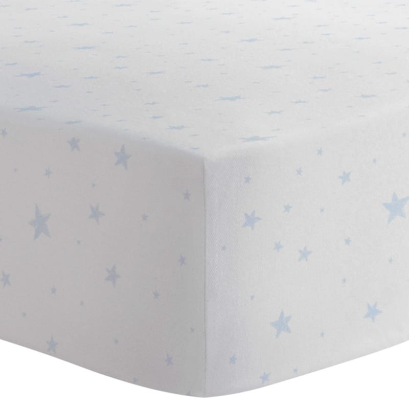 Playpen Sheet - Blue Stars