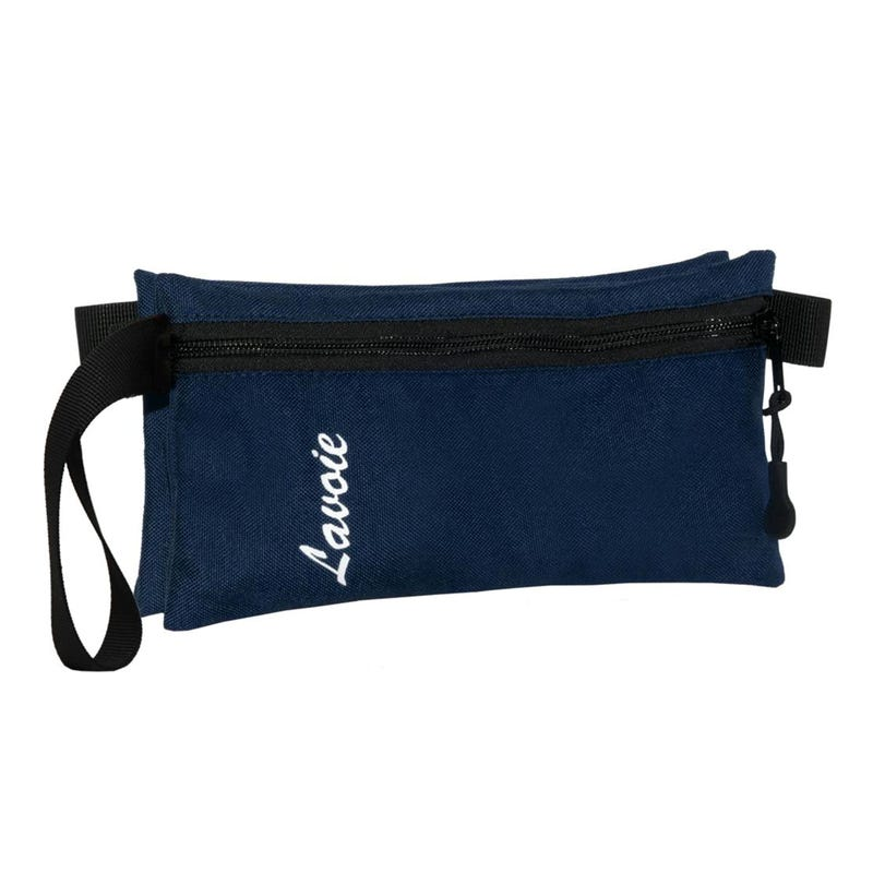 Pencil Case Double Navy