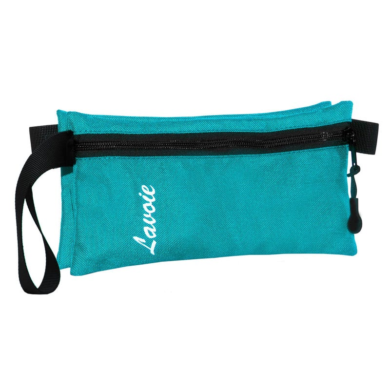 PENCIL CASE DOUBLE AQUA