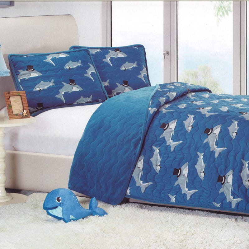 Queen Quilt Shark Double