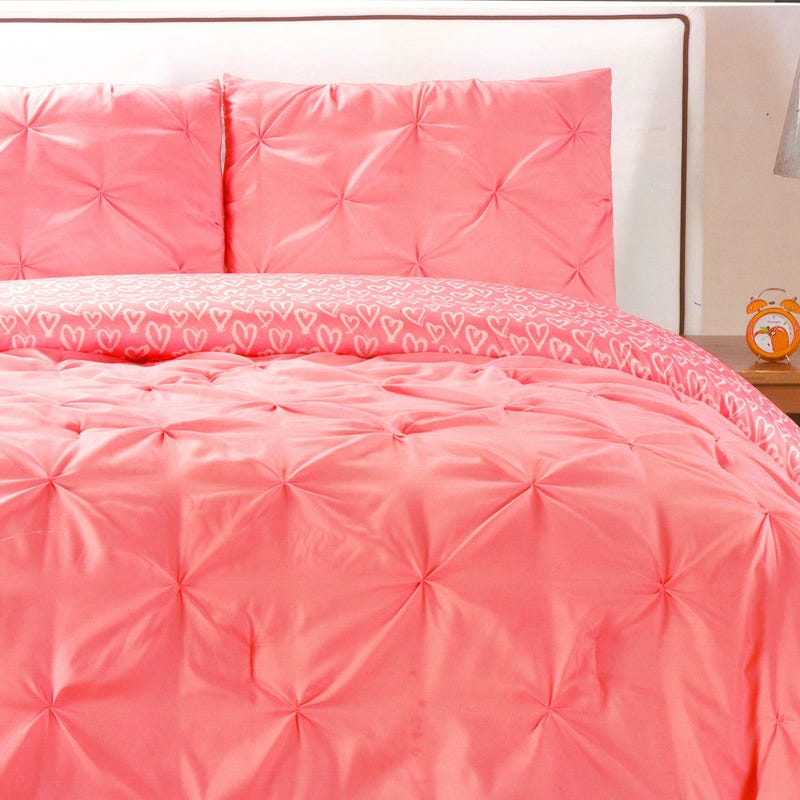 Double Comforter Ferrah - Pink