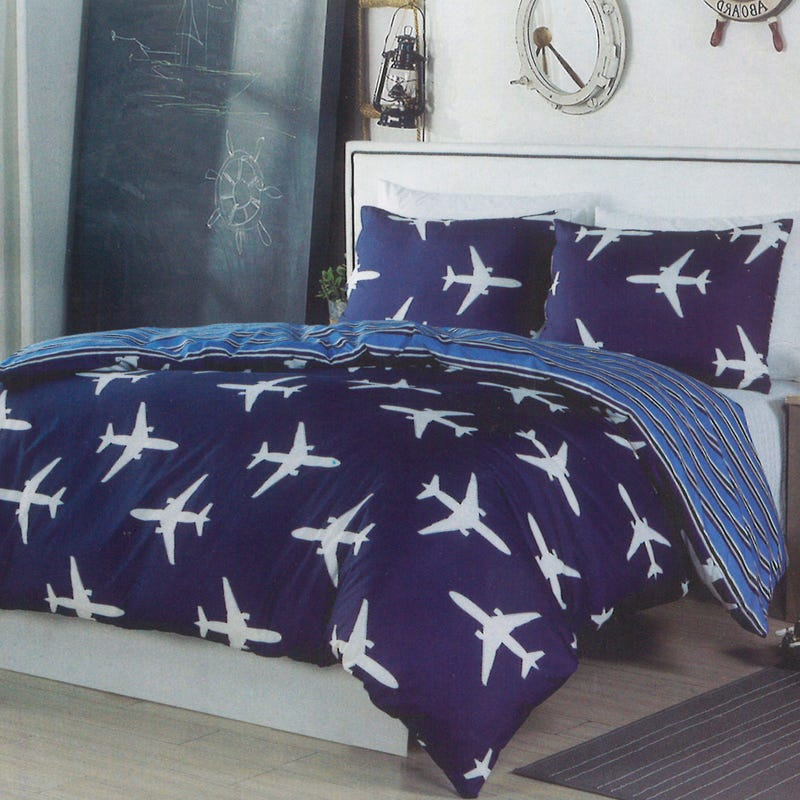 Twin Duvet Cover - Planes