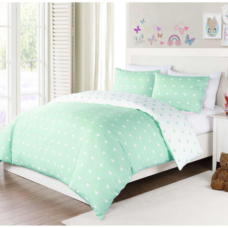 Double Comforter Kelly - Aqua