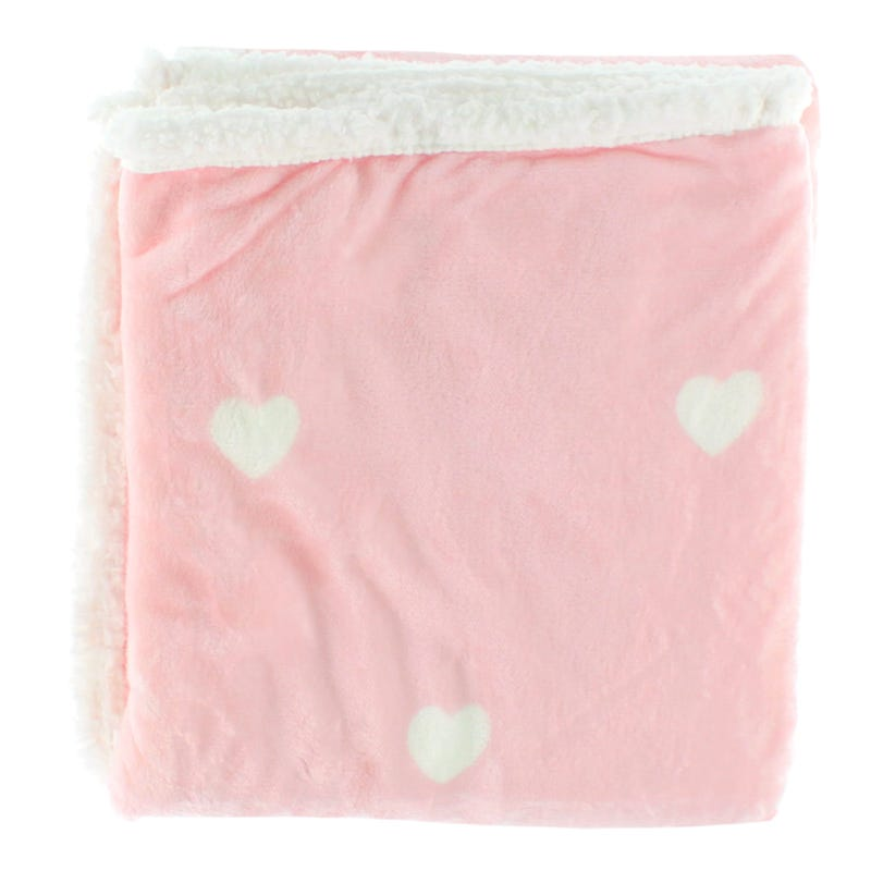 3068f3f4da Throw 50x60 Kelly Pink