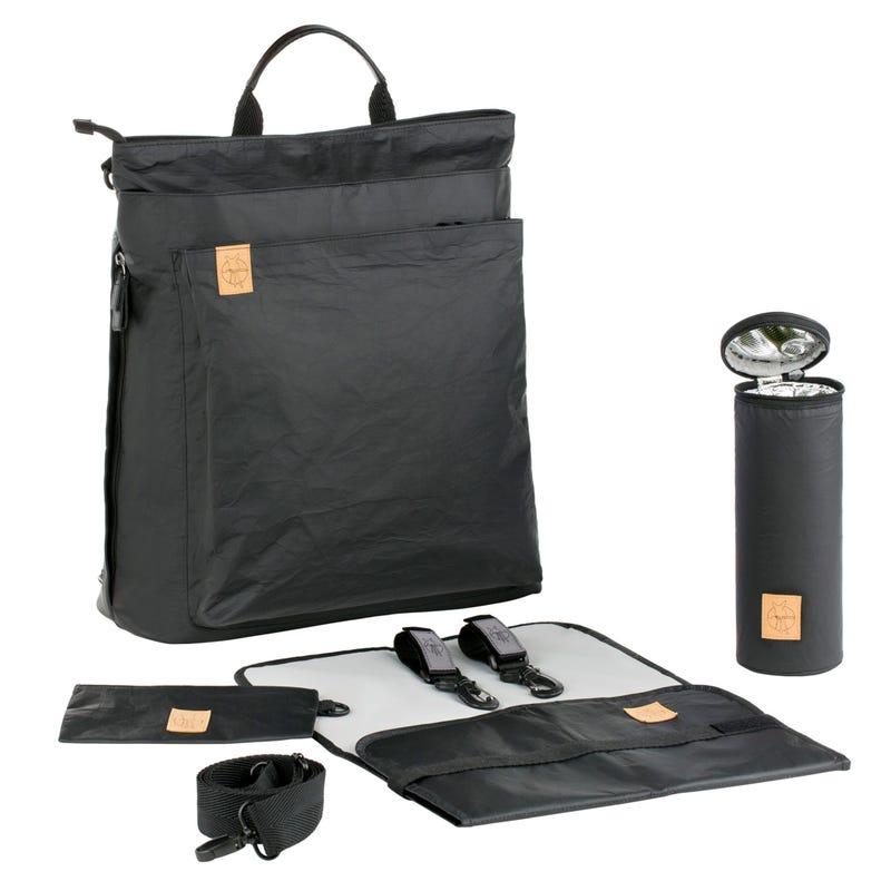 Diaper Backpack Tyve - Black
