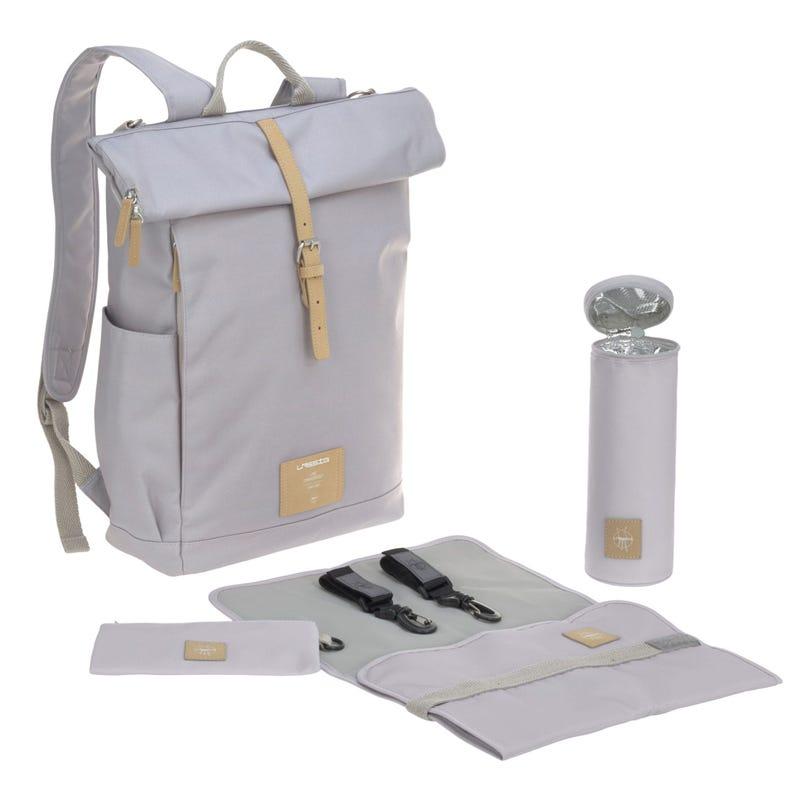 Diaper Bag Rolltop - Grey