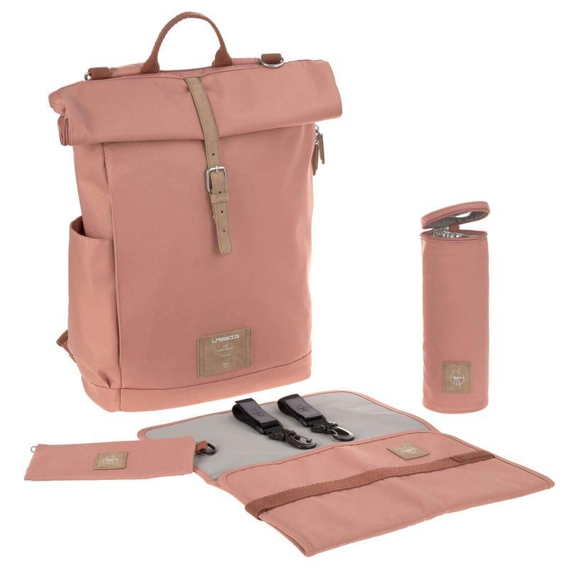 Diaper Bag Rolltop - Cinnamon