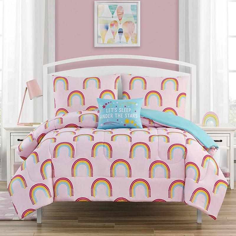 Double Comforter Set -Rainbow