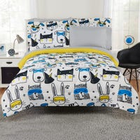 7-Pieces Simple Comforter Set - Animal