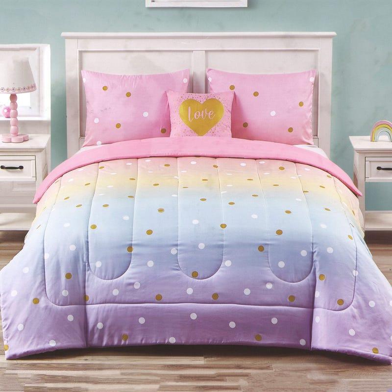 Twin Comforter Set - Multi Color