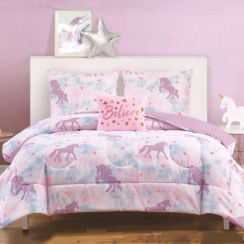 Twin Comforter Set - Ponies