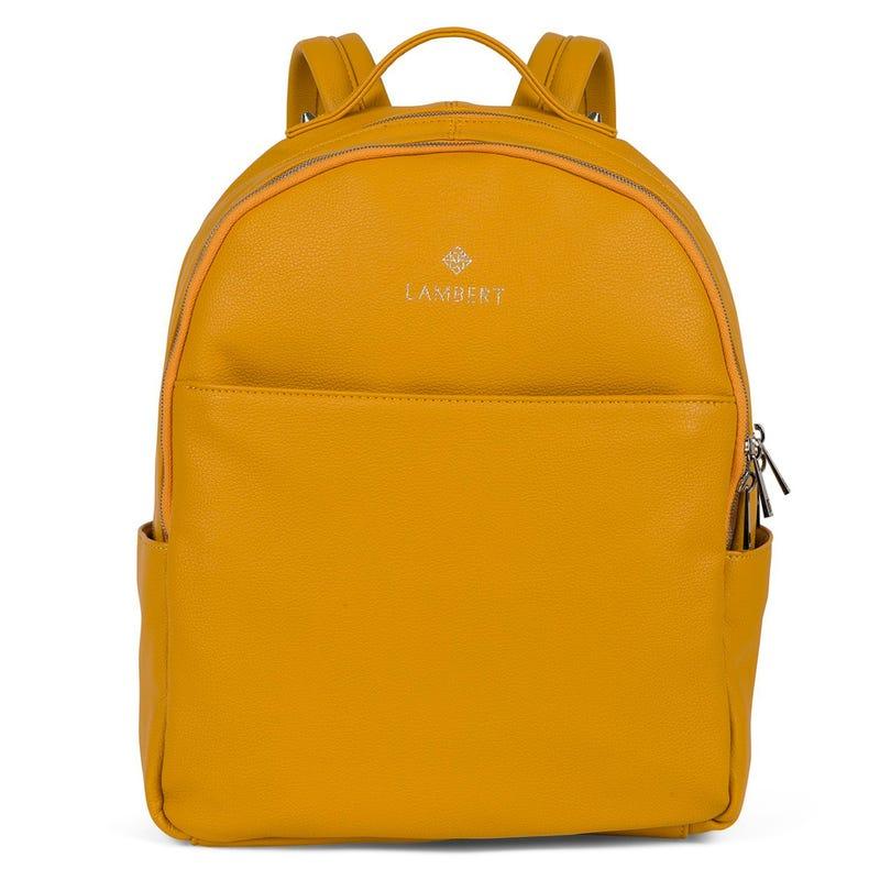 Charlotte Vegan Backpack - Yellow