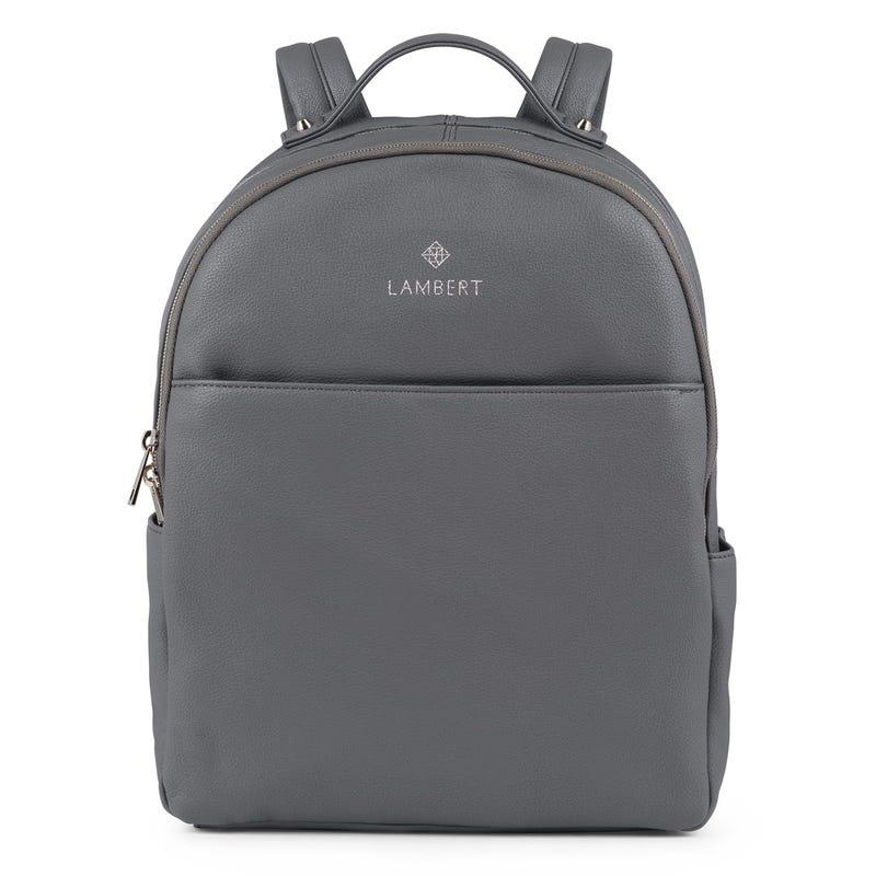 Charlotte Vegan Backpack - Gray