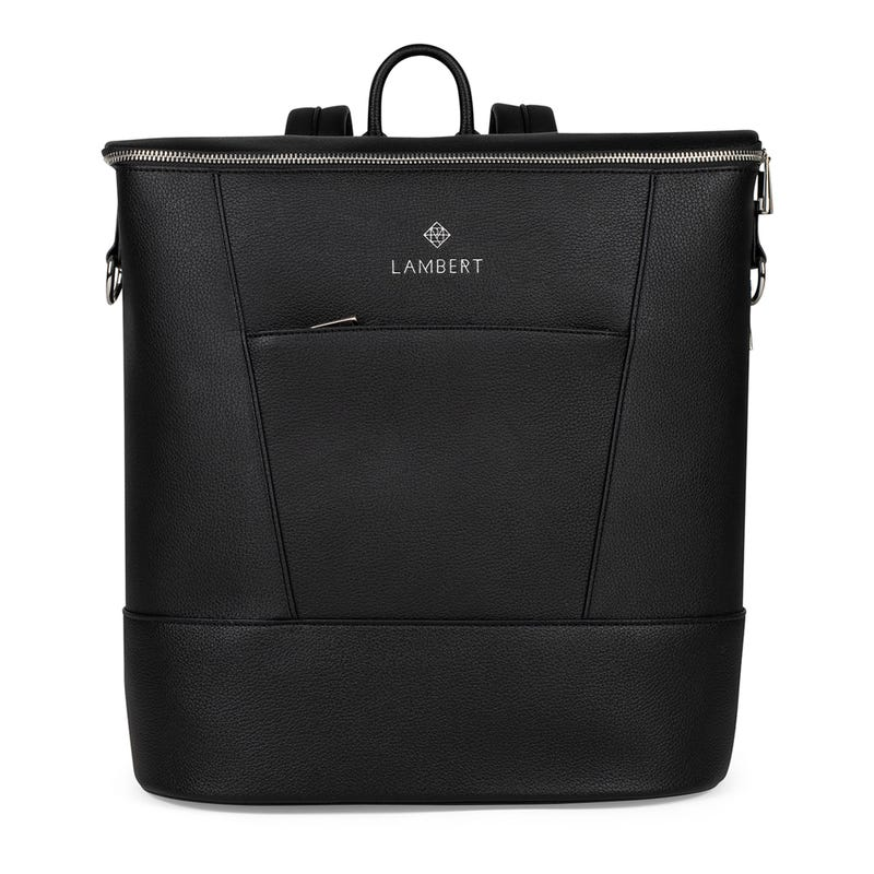 Mia Backpack Diaper Bag - Black