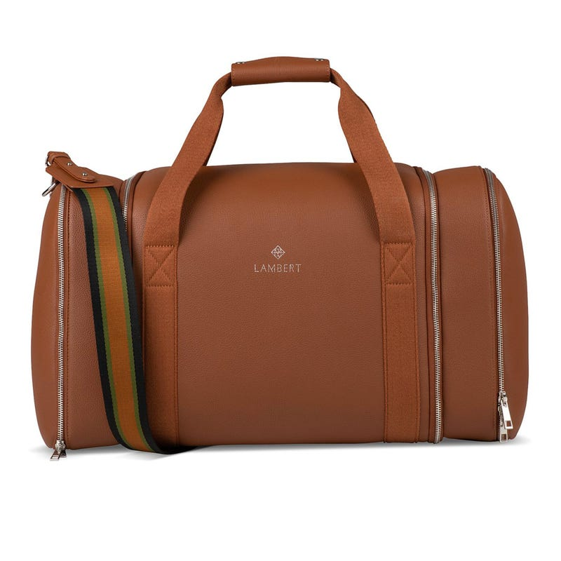 Sidney Travel Bag -  Hazelnut