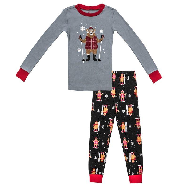 2 Pieces Pajama Set 2-6y - Alpine Bear