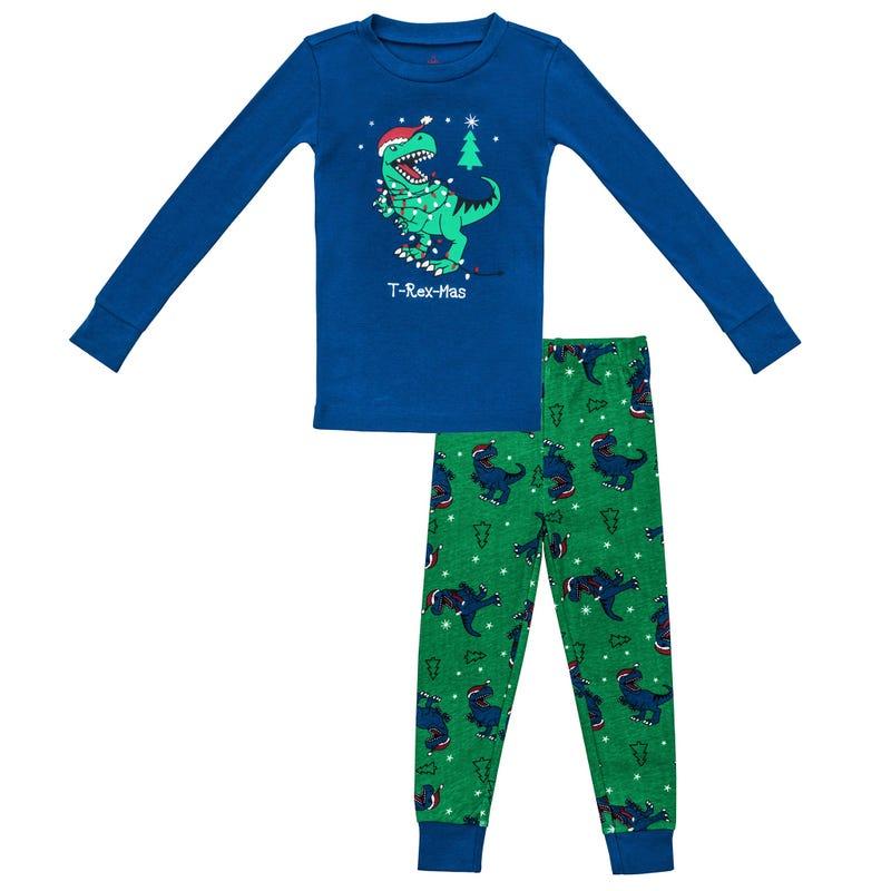 2 Pieces Pajama Set 2-6y - Dino