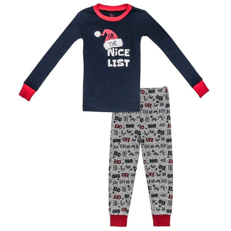 Pyjama 2 Pièces Ho Ho Ho 7-10ans