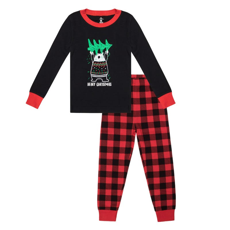 Bear 2pcs Pajamas 2-14