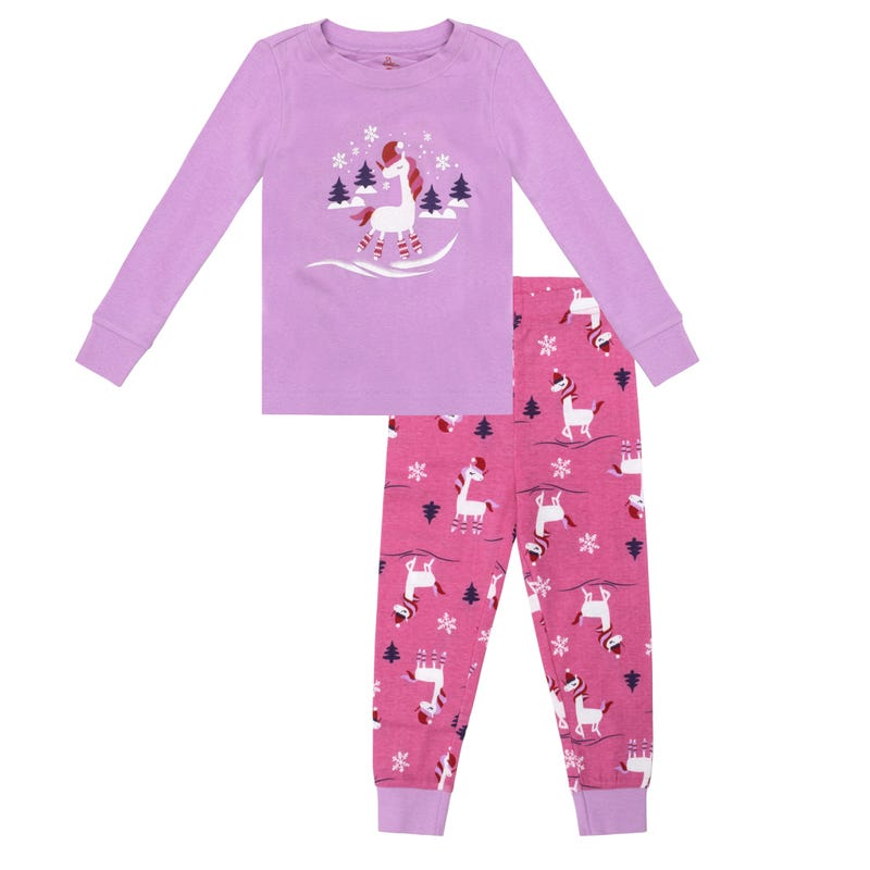 Unicorn 2pcs Pajamas 2-14