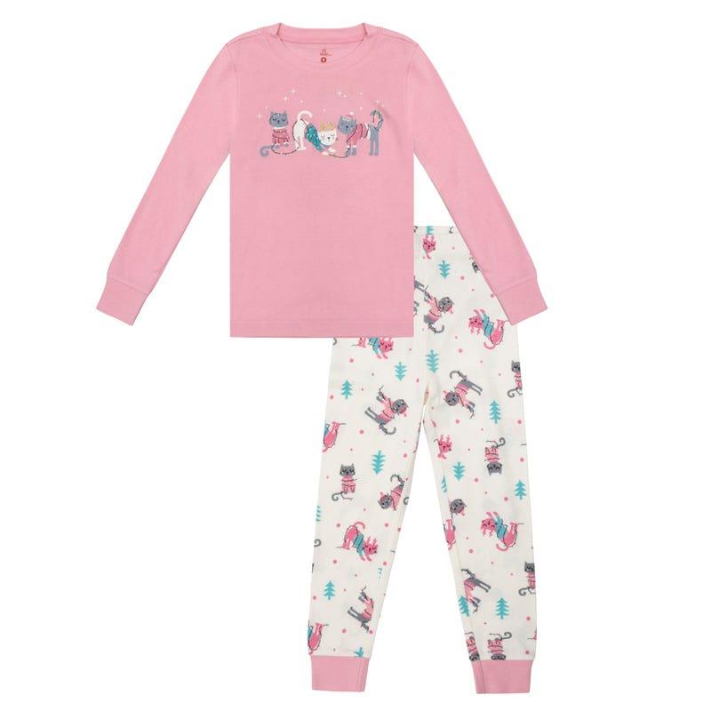 Cats 2pcs pajamas 2-14