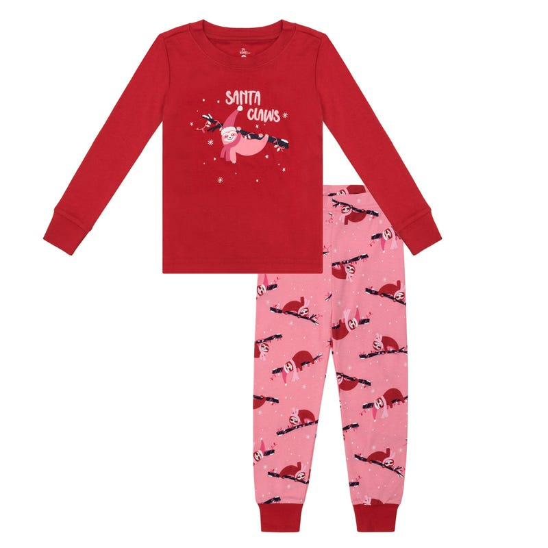 Sloth 2pcs Pajamas 2-14