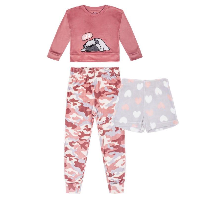 Pyjama 3 Pièces Chien 4-14ans