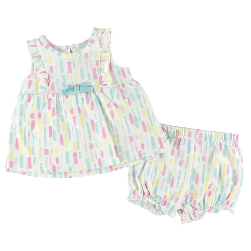 Rainbow Dress 3-24m