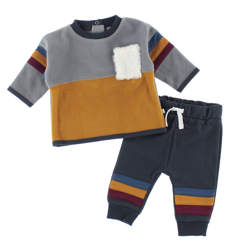 Fleece Pant Set 3-24m