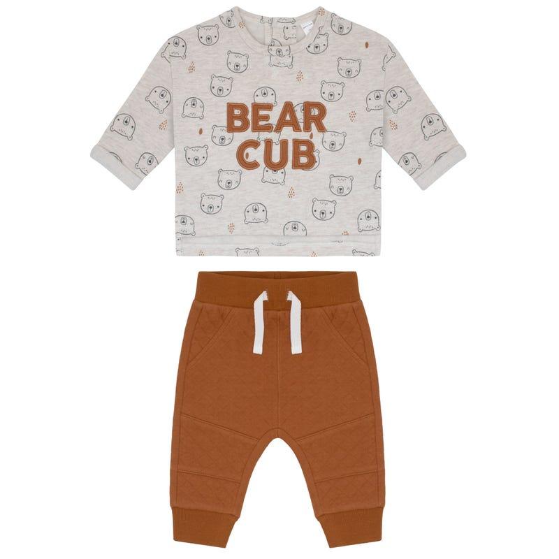 Bear Pants Set 3-24m