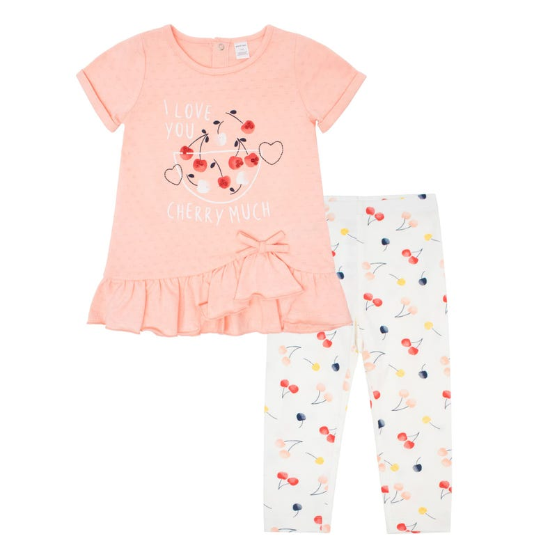 Cherry Tunic Legging Set 3-24m
