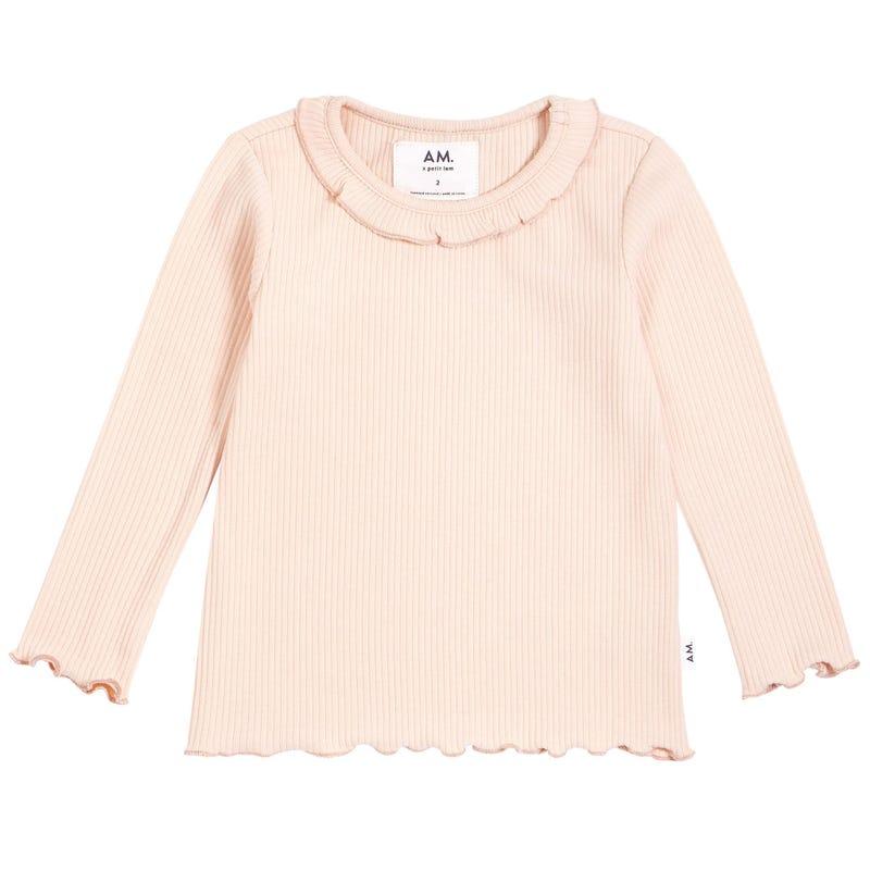 AM Rib T-Shirt 3-8y