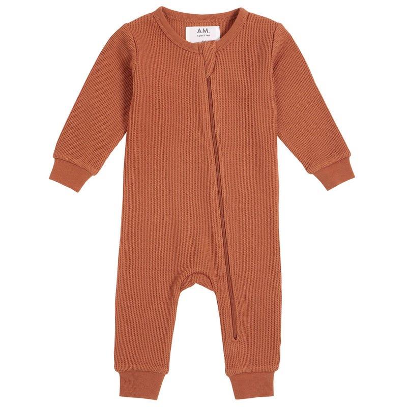 AM Solid Pajamas 6-24m
