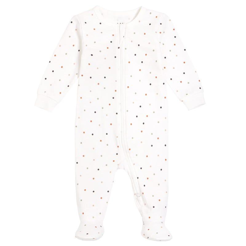 AM Polka Dots Pajamas 6-24m