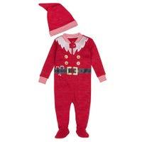 Pajama Set 3-9m - Santa