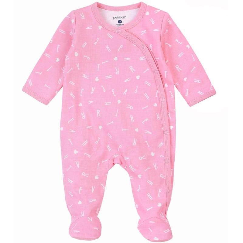 Pyjama Lettres Chaton 0-9mois