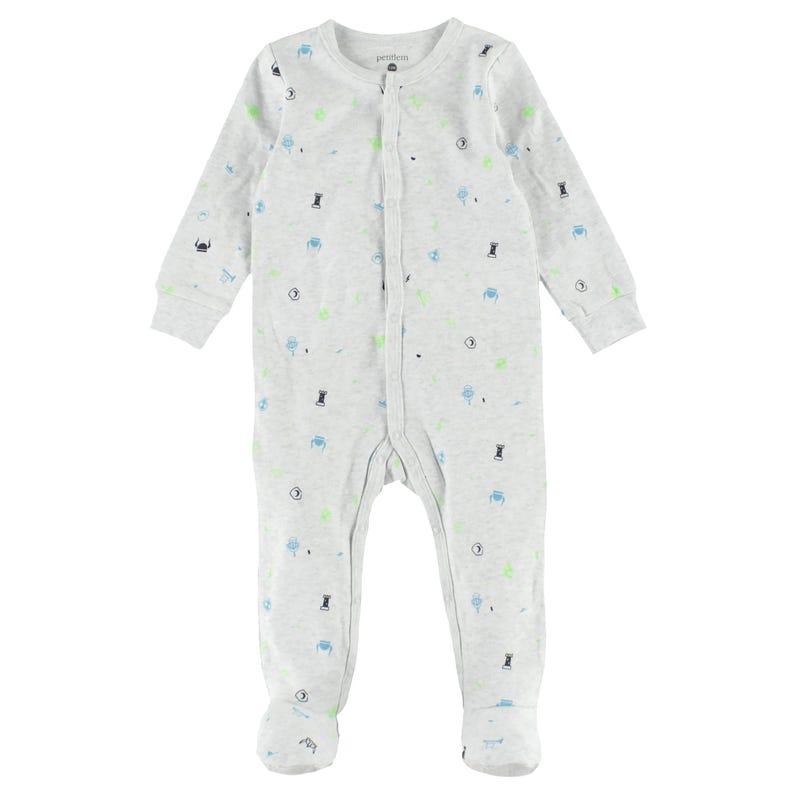 Knights Printed Pajama Set 12-24m