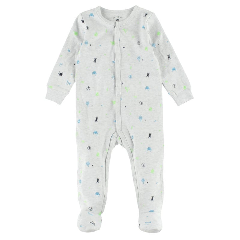 Knights Printed Pajama Set 12-24m